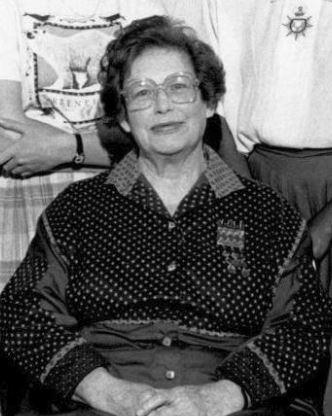 Francess Halpenny (cropped), c. 1980s.